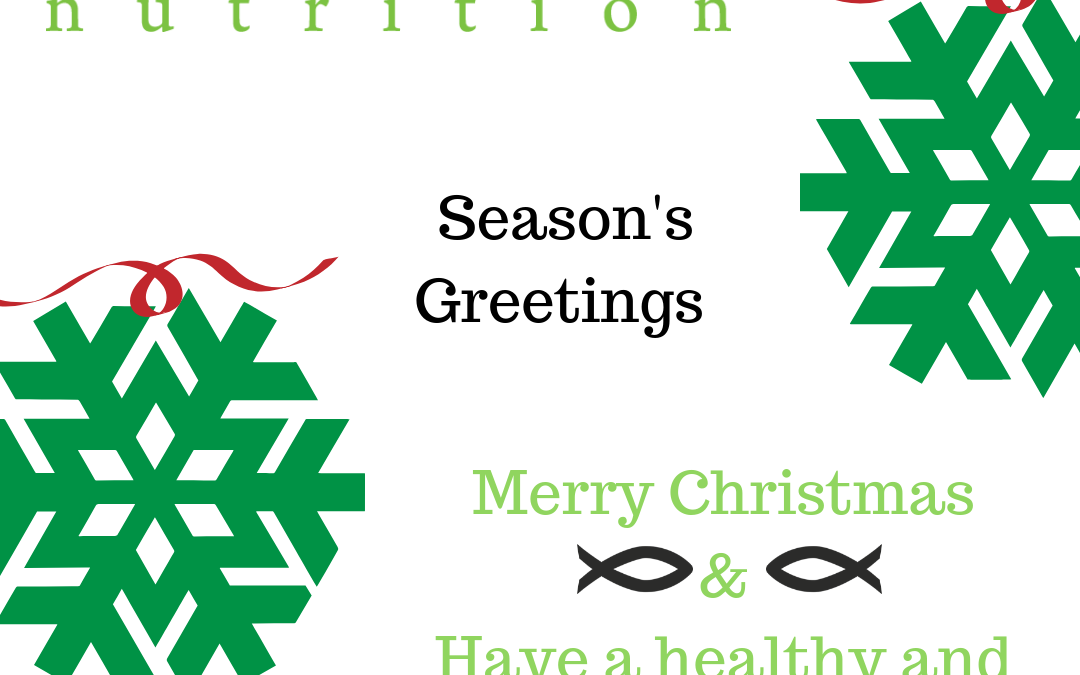 Season's Greetings from Elle Rock Nutrition