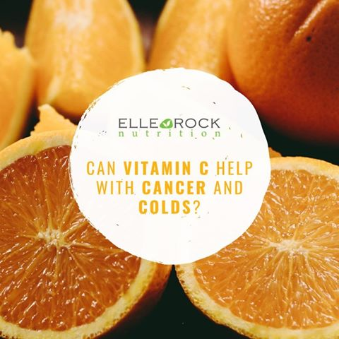 MY 'Can vitamin C help with cancer and common colds' ARTICLE